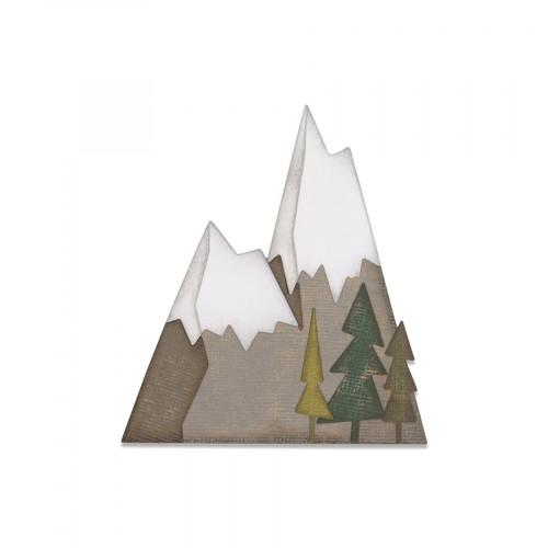 Thinlits Die Set Montagne alpine - 7 pcs