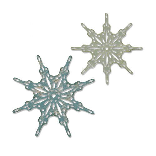 Thinlits Die Set Flocons de neige fantaisie - 2 pcs