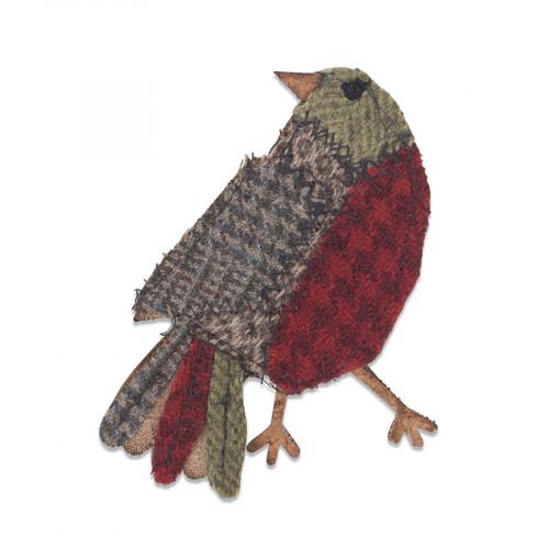 Bigz Die Oiseau Patchwork