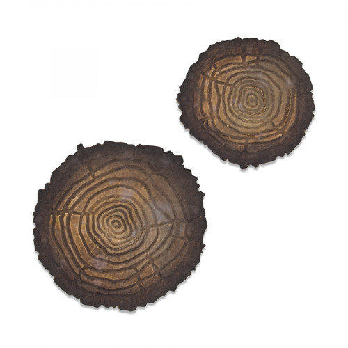 Bigz Die / gaufrage Mini tronc d'arbre