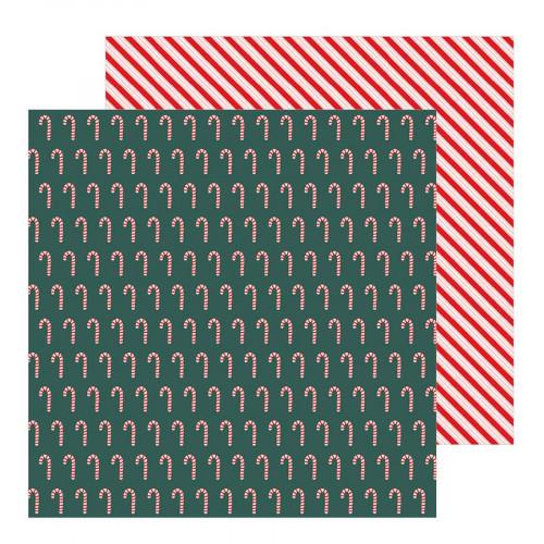 Merry Little Christmas - Papier Candy Cane