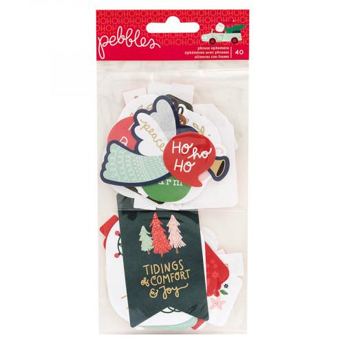 Merry Little Christmas Formes découpées #1 - 40 pcs