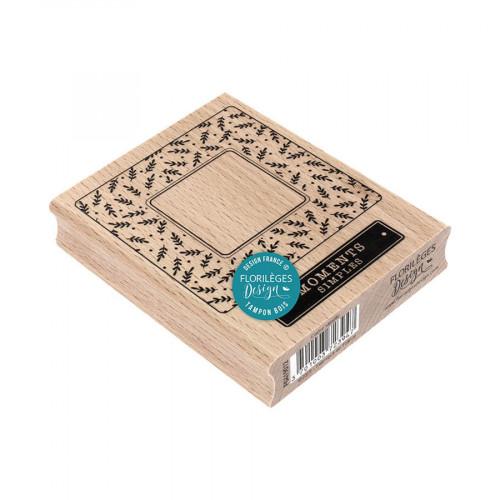 Tampon bois Cadre simple - 8 x 10 cm
