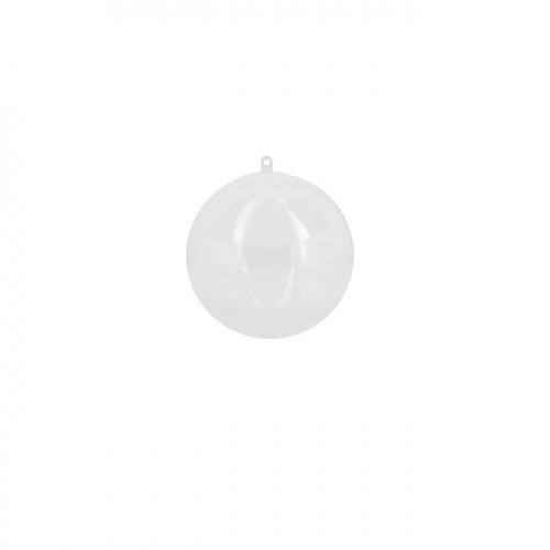 Boule en plastique 10 cm