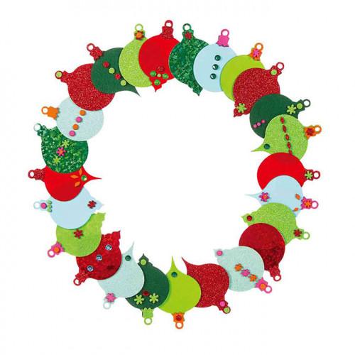 Décoration de Noël Méga pack festif 321 pcs