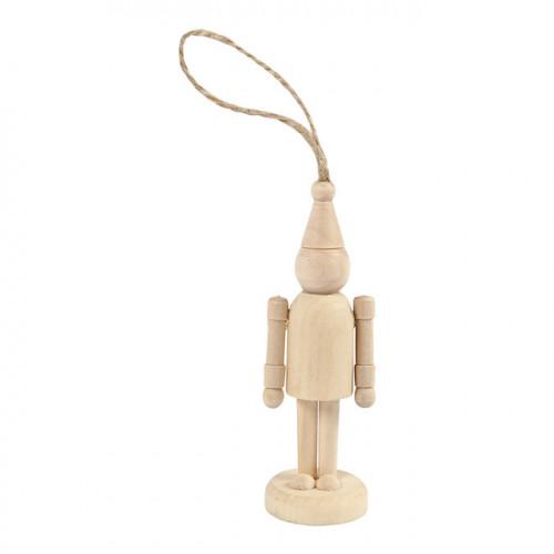 Figurine Lutin en bois 9 cm