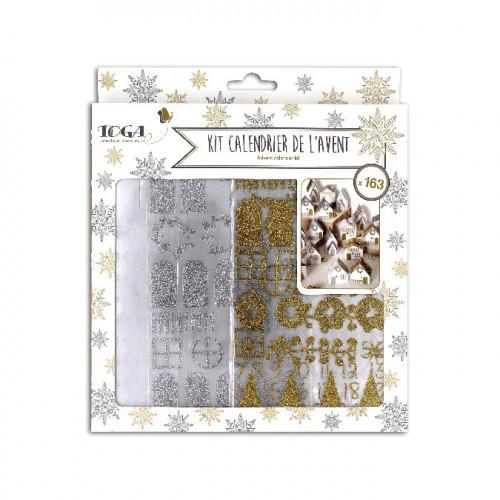 Kit calendrier de l'Avent L'or de Bombay