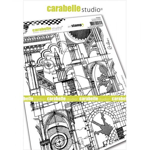 Tampon Cling Architecture gothique - A5