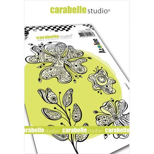 Tampons Cling Fleurs succulentes - A6