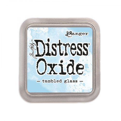 Encreur Distress Oxide Tumbled Glass