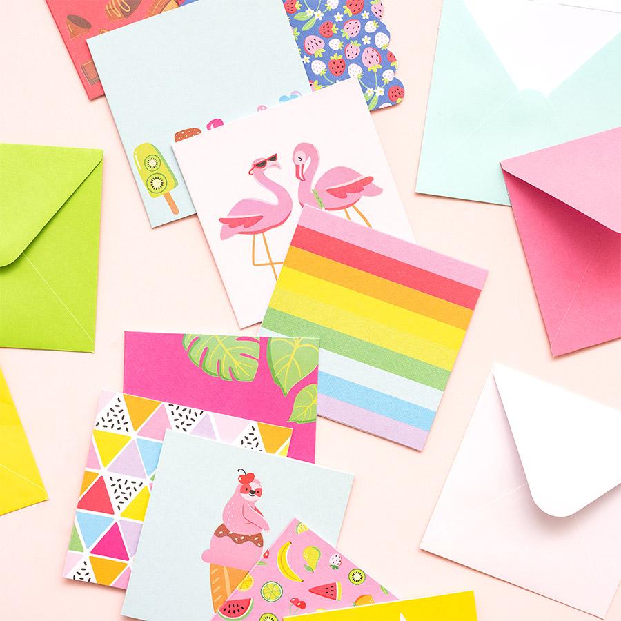 Wild Card Mini Cartes et enveloppes