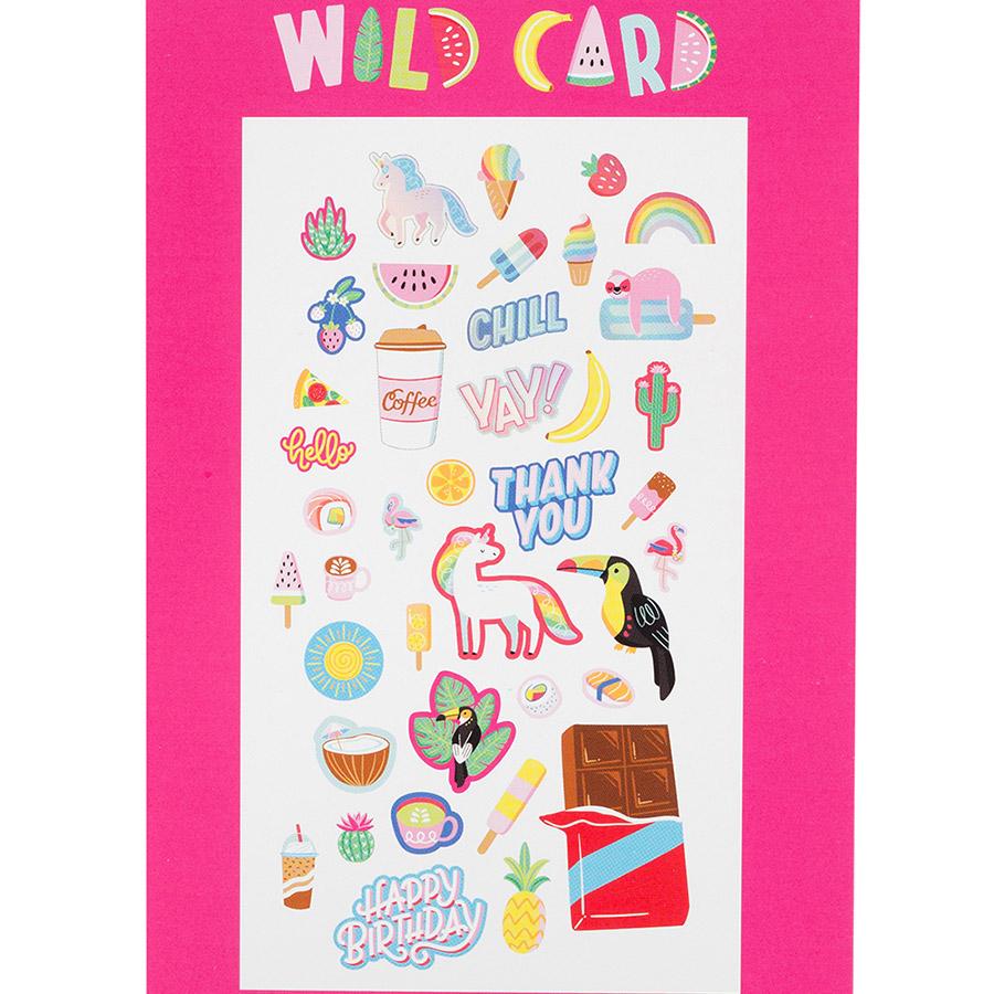 Wild Card Formes découpées - 40 pcs