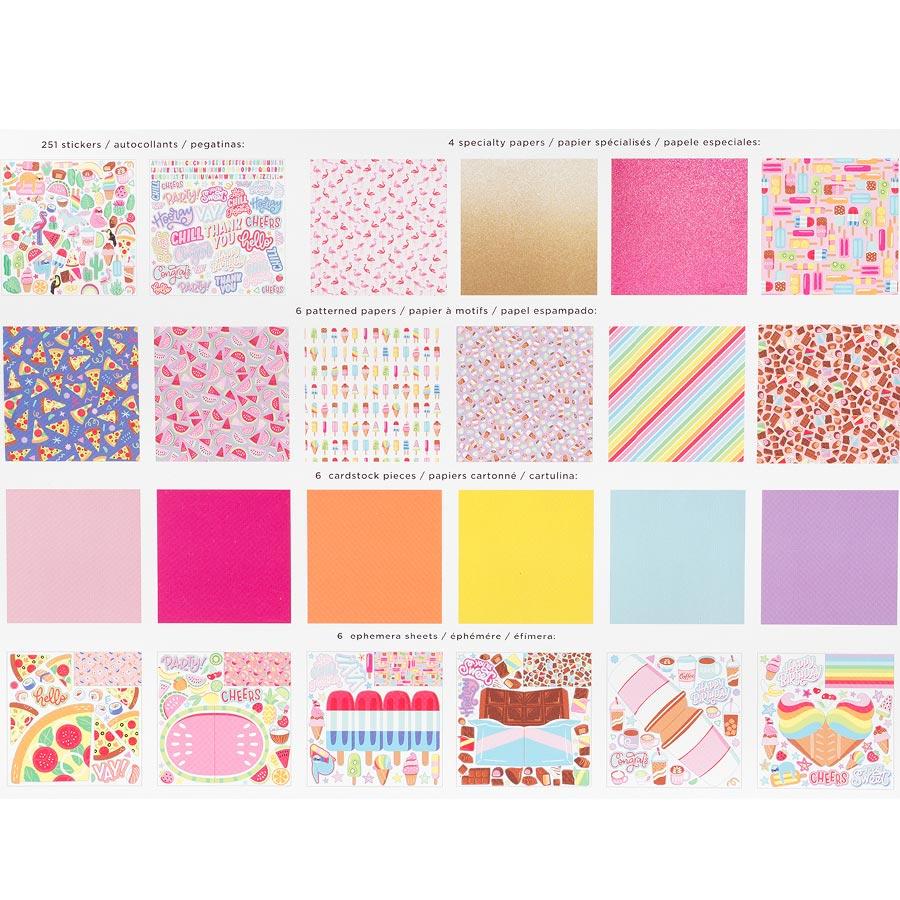 Wild Card Kit de collection 30 x 30 cm