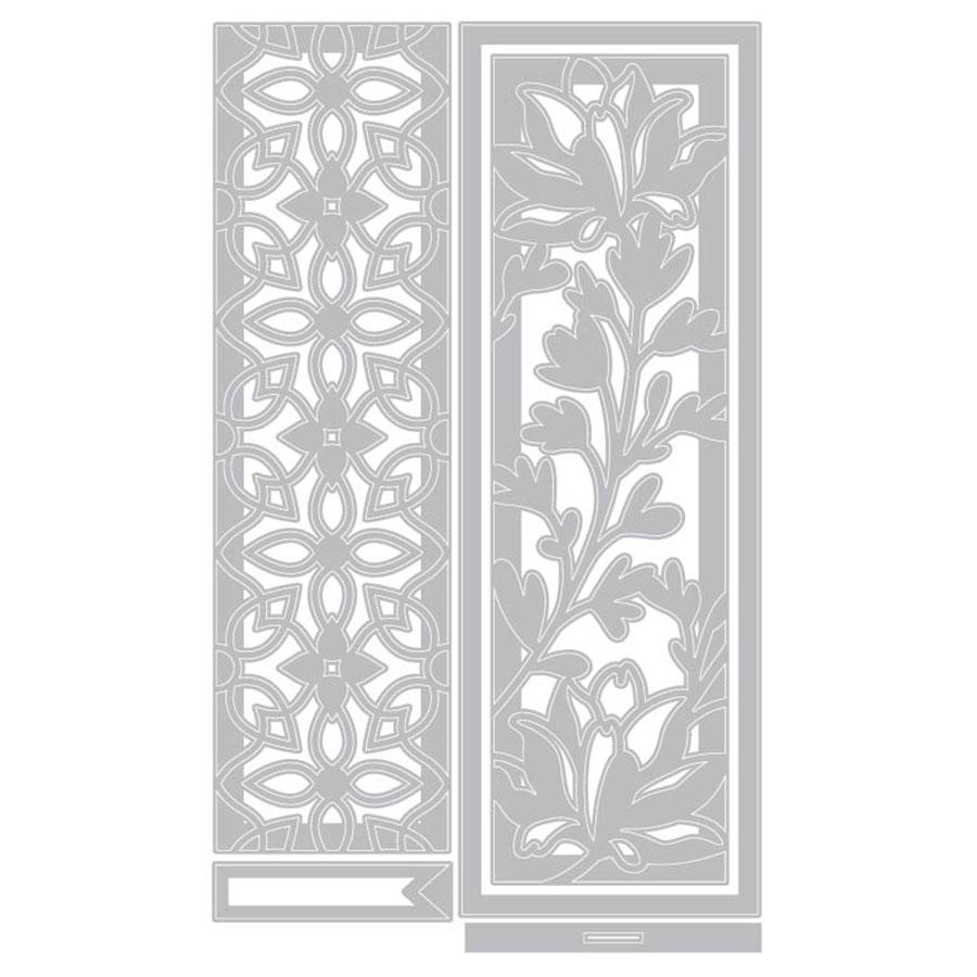 Thinlits Die Set Marque-pages Botaniques - 5 pcs