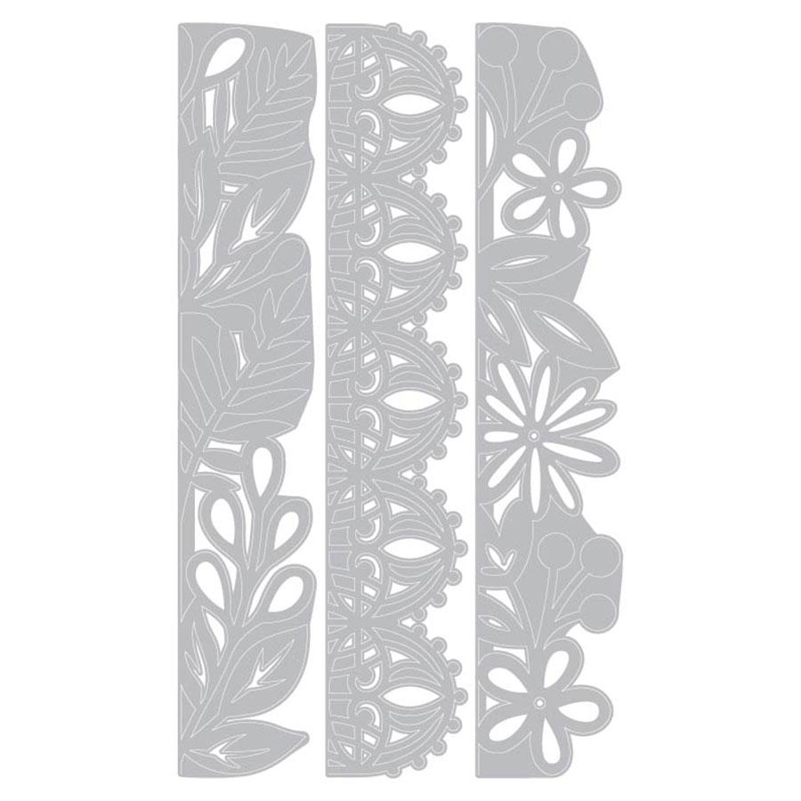 Thinlits Die Set Bordures décoratives - 3 pcs
