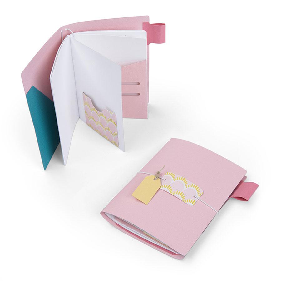 Bigz XL Die Journal de voyage Pages & poches