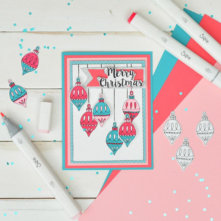Tampons et Framelits Classiques de Noël - 9 pcs
