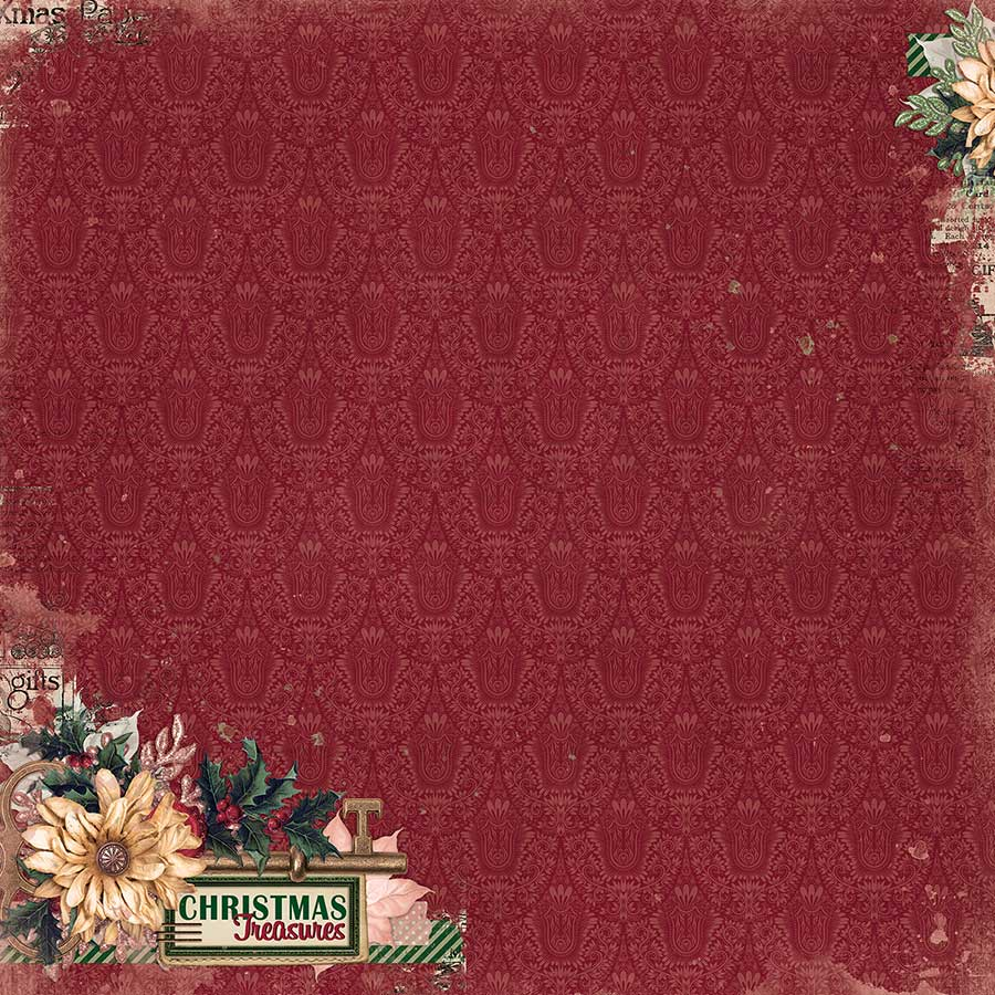 Christmas Treasures - Papier Christmas Treasures