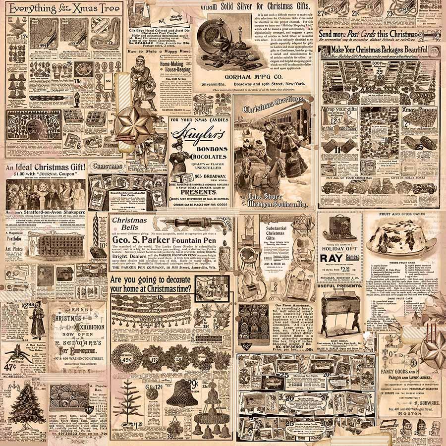 Christmas Treasures - Papier Shopping