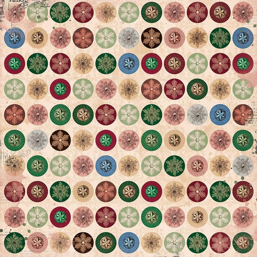 Christmas Treasures - Papier Ornaments