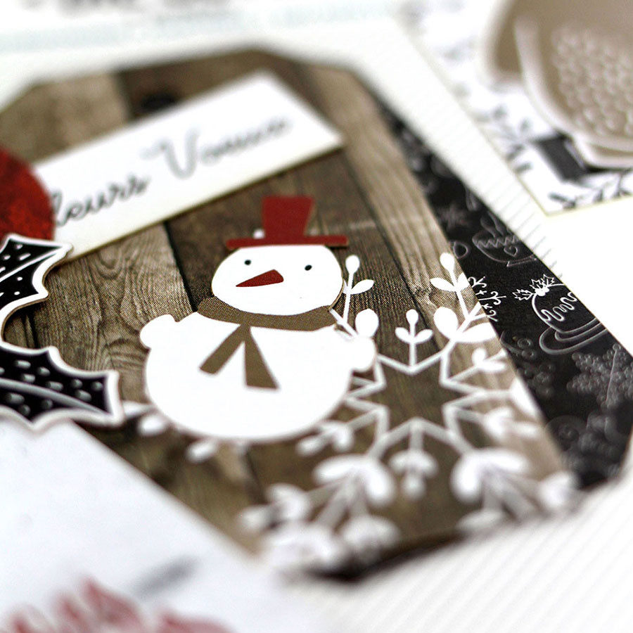 Christmas Cocooning Découpes en papier