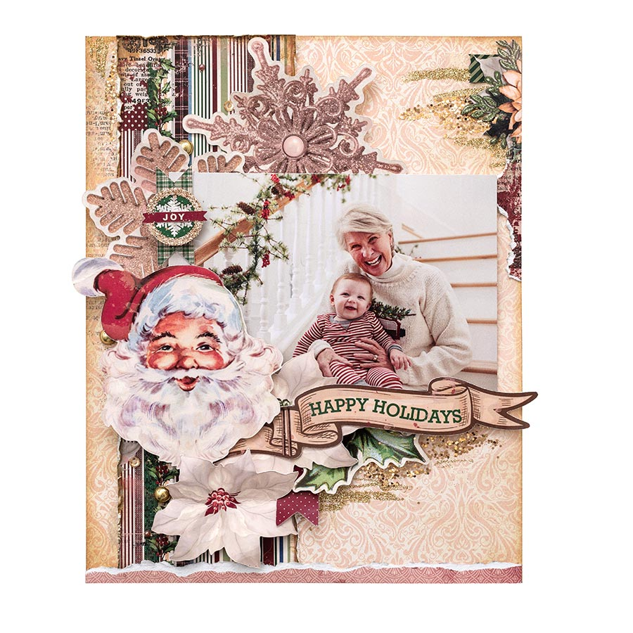 Christmas Treasures - Papier Dear Santa