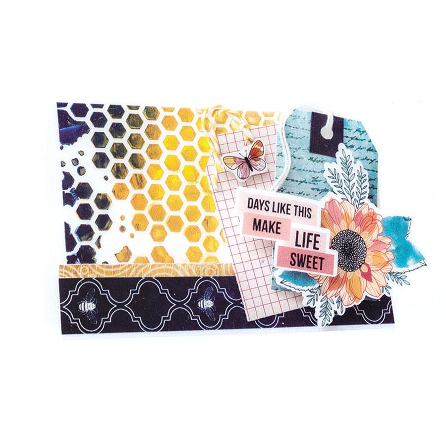 Wildflower and Honey Découpes en papier #2 - 50 pcs