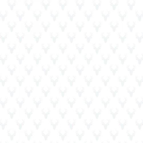 Calque imprimé Woodland Cerfs
