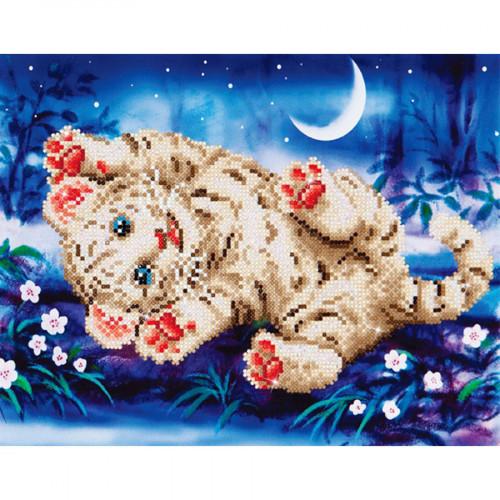 Kit tableau Strass Diamond Dotz Bébé tigre