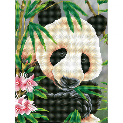 Kit tableau Strass Diamond Dotz Prince Panda