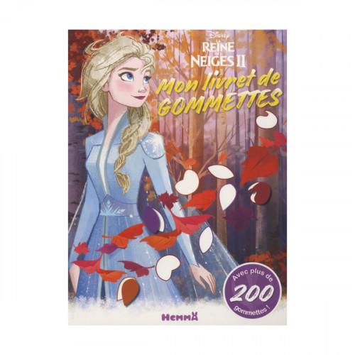 Disney La Reine des Neiges 2 Mon livret de gommettes