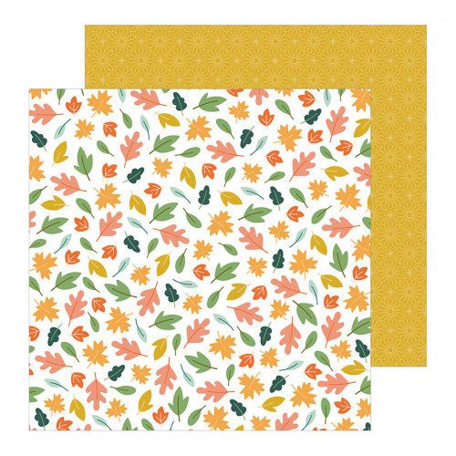 This is Family - Papier Scattered Leaves