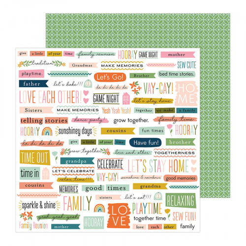 This is Family - Papier Bits and Pieces