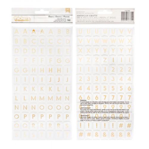 Alphabet Stickers or - 168 pcs