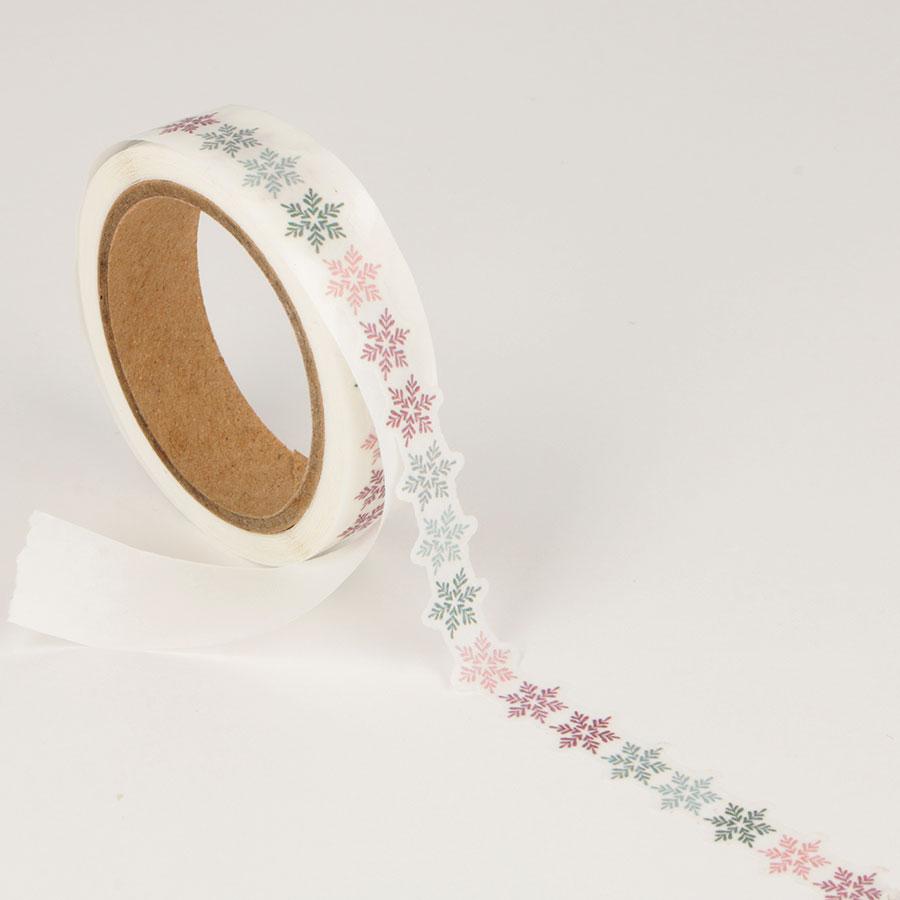 Masking Tape Die-cuts Isatis - 2 rouleaux