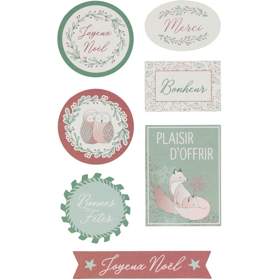 Stickers Isatis - 4 planches
