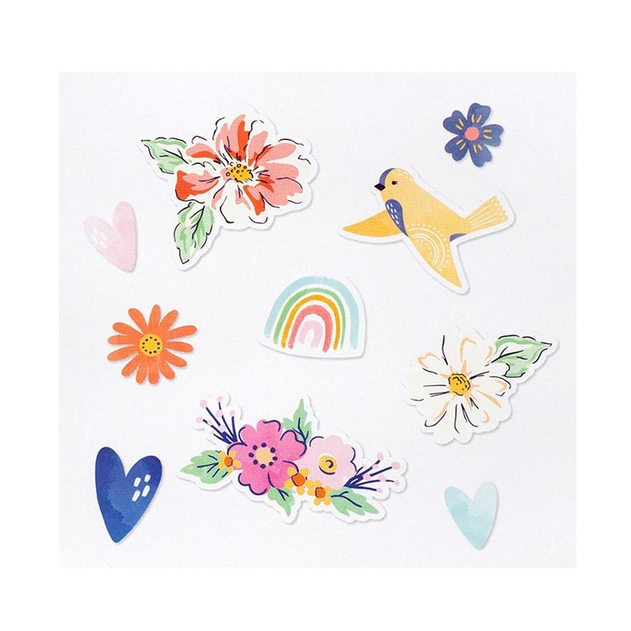 She's Magic Puffy Stickers - 27 pcs