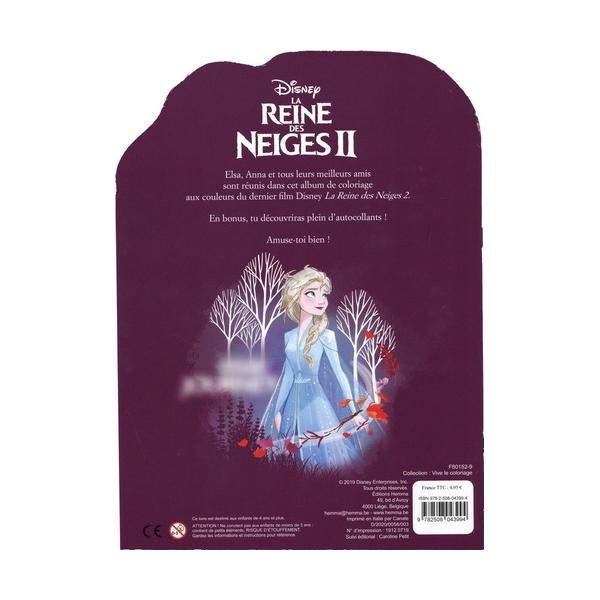 Disney La Reine des Neiges 2 Vive le coloriage