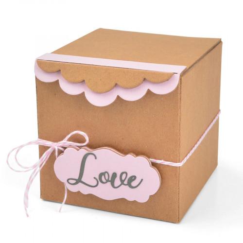 ScoreBoards XL Boîte Cadeau avec bordures festonnées
