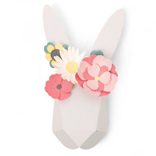 Thinlits Die Set Lapin Origami - 9 pcs