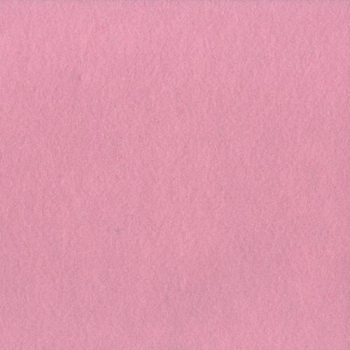 Feutrine rose pâle - 2 mm - 30 x 30 cm