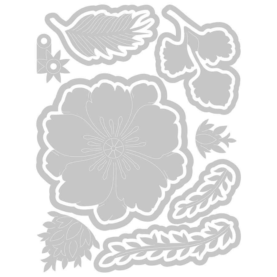 Thinlits Die Set Pivoine Pop-up - 13 pcs