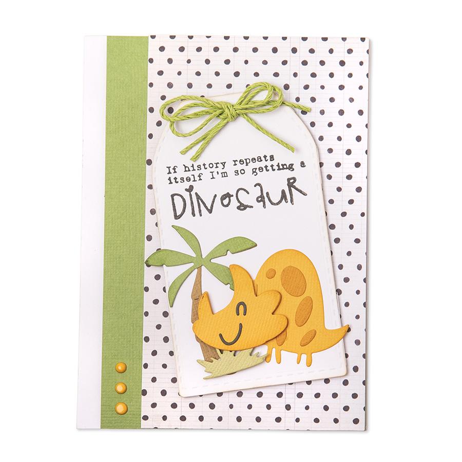 Thinlits Die Set Dinosaures - 9 pcs