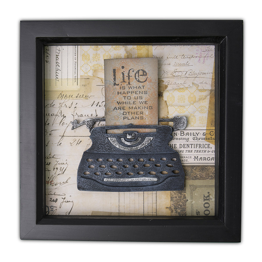 Bigz Die Machine à écrire