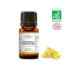 Huile essentielle d'hélichryse à capitules BIO 10 ml (AB)