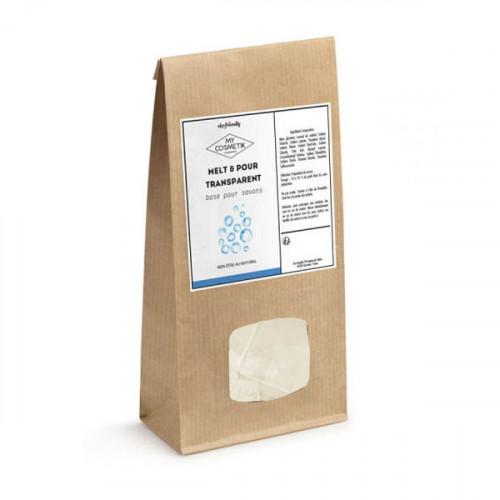 Melt & Pour naturel aux huiles BIO 200 g
