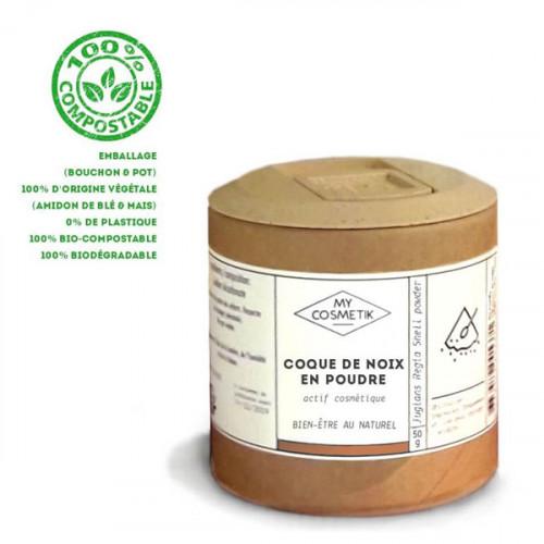 Poudre de coque de noix 50 g