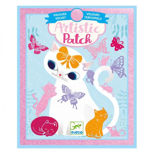 Collage Artistic Patch velours Bébés animaux
