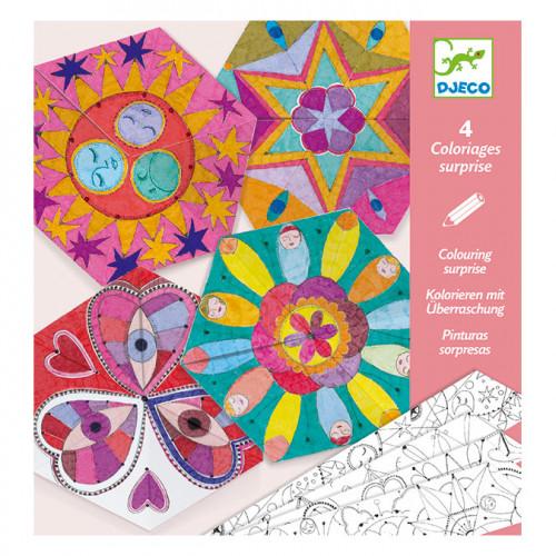 Coloriages surprise Mandalas