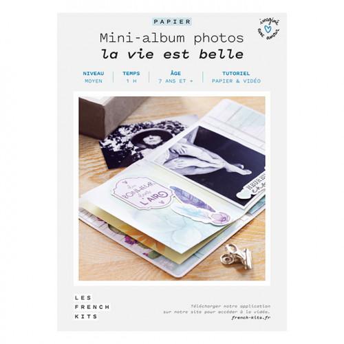 Kit Mini-album photo La vie est belle